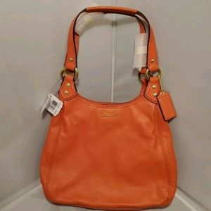 Coach Ashley Leather Hobo Handbag Purse F21926